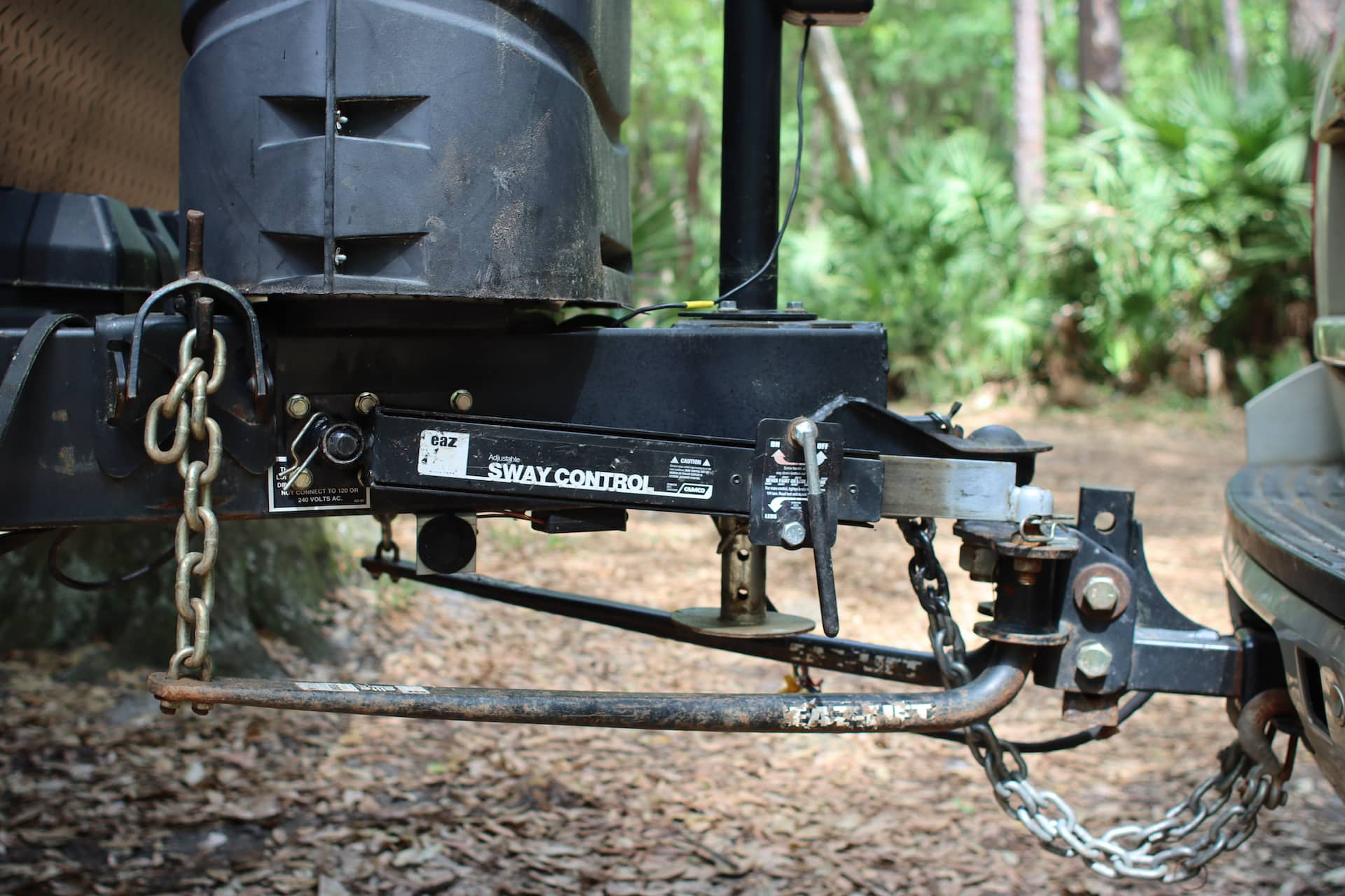 RV Sway Control Basics for Travel Trailers