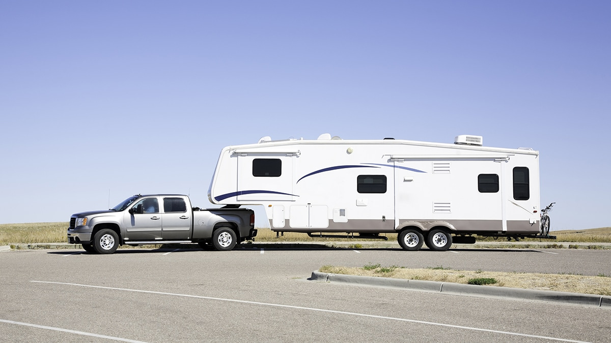 Checklist for Parking Your Towable RV