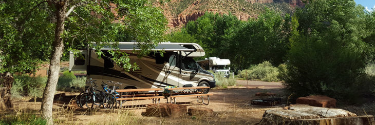 How to Park Your Motorized RV
