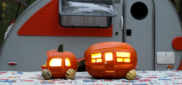 Fall DIY Tutorial: How to Carve Your Own RV Trailer Pumpkin