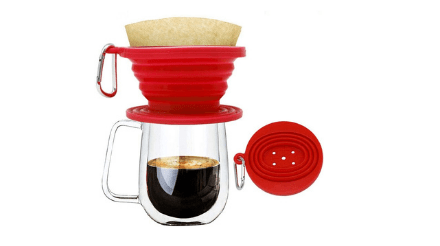 Collapsible Pour Over Coffee Dripper