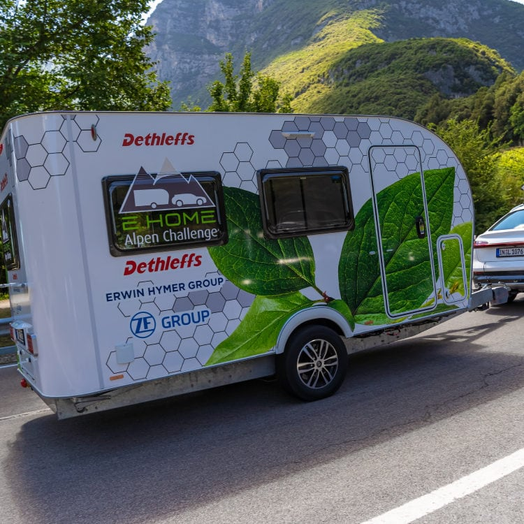 Extend Your EV Range By Towing an Electric Trailer